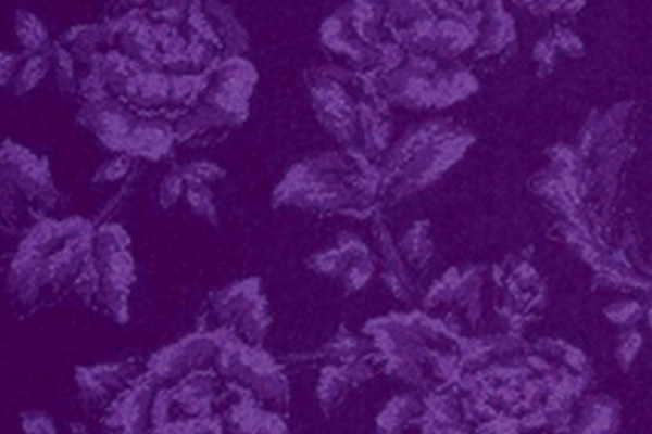 PURPLE PRINCESS ROSE LINEN