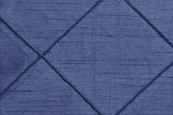 PINTUCK SLATE BLUE NOVA LINEN