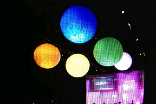 8' SPHERE INFLATABLE LIGHT