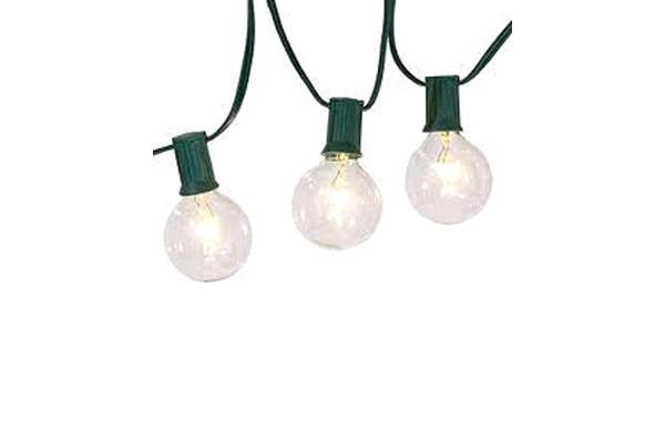 LIGHTS, CAFE GREEN 100'