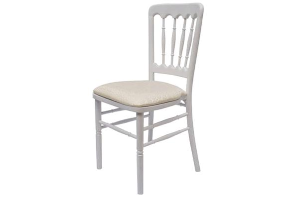 WHITE CHATEAU CHAIR
