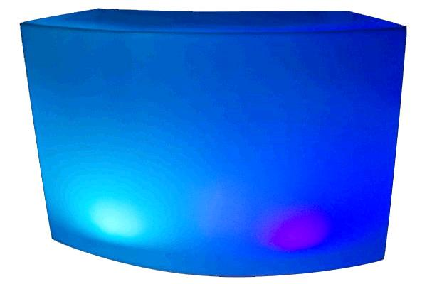 CURVED LED PLASTIC BAR STYLE 1