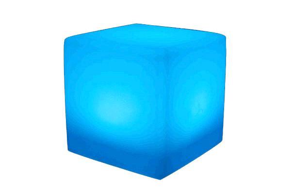 PLASTIC LED CUBE