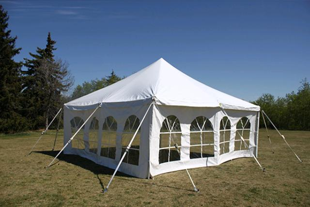 20' X 20' ELITE CANOPY TENT W/ WINDOW WALLS