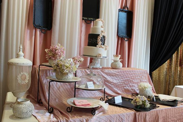 PINK FRENCH PLEATING LINEN