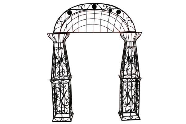 IRON GARDEN GATE ARCHWAY