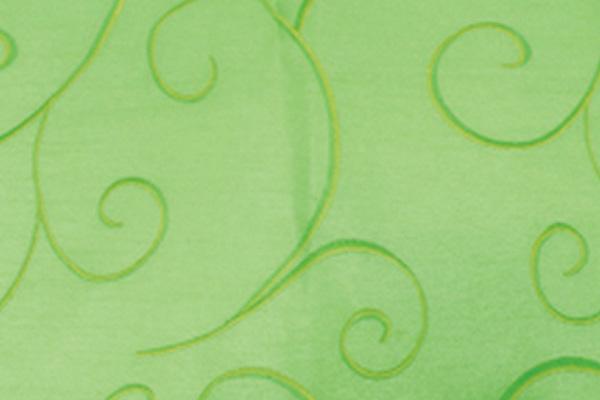 SWIRL APPLE GREEN NOVA LINEN