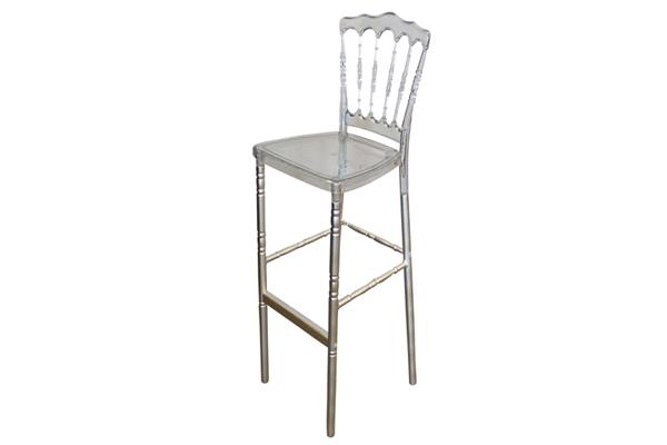 CLEAR NAPOLEON STOOL