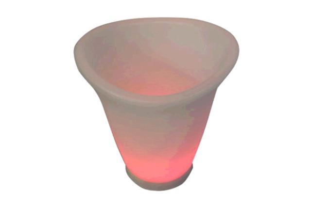 SMALL LED PLASTIC ICEBUCKET