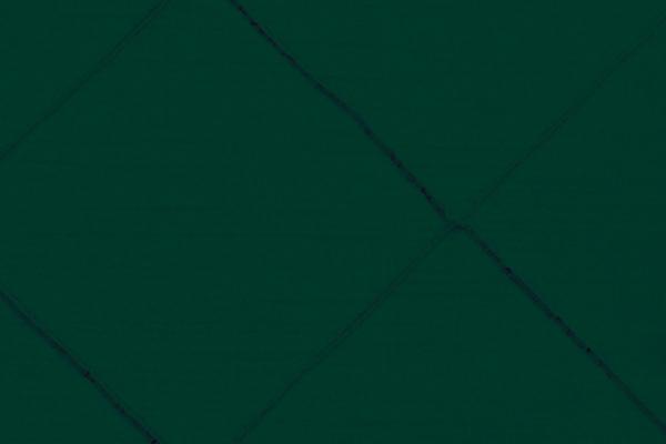 PINTUCK HUNTER GREEN NOVA LINEN