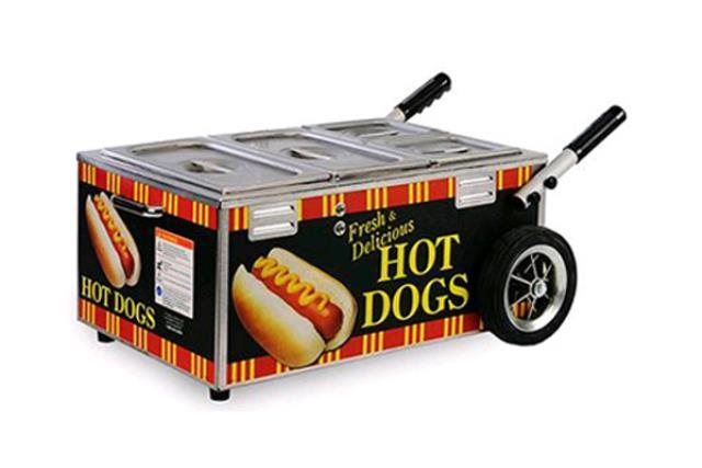 TABLETOP HOT DOG STEAMER