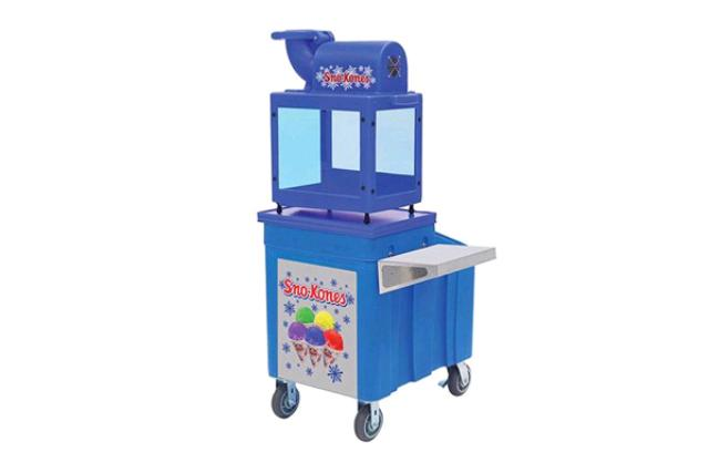 Rent Sno Kone Prep Table With Ice Chest Concession