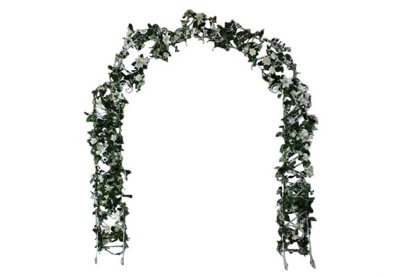 ARCHWAY, IRON WHITE (DECORATED)