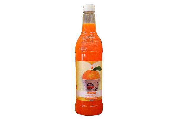 SNO-KONE SYRUP ORANGE 750ML