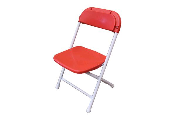 RED CHILDRENS FOLDING CHAIR