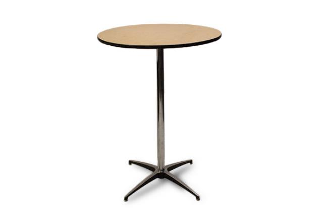 Rent 30 Round Cocktail Table Standing Height Tables Rentals In Edmonton Alberta