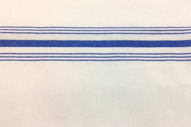 BISTRO W/BLUE STRIPE NAPKIN, 18