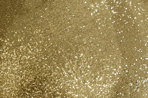GOLD SEQUIN LINEN