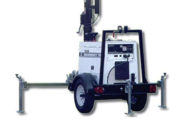 TRAILER MOUNTED GENERATOR